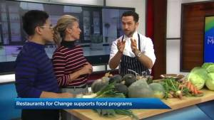 Restaurants for Change supports community food programs (04:10)