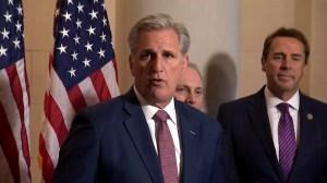McCarthy to replace Paul Ryan as leader of U.S. House GOP