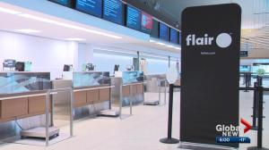 Edmonton-based Flair Airlines cancels flights to US cities