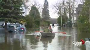 30 homes evacuated in Pierrefonds-Roxboro flooding