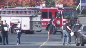 Langley hazmat scene prompts major evacuation