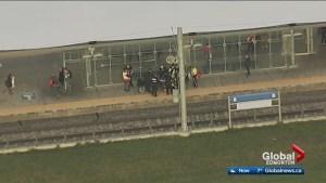 Man stabbed at south Edmonton LRT station