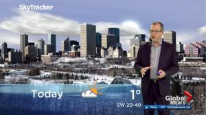 Edmonton morning weather forecast: Saturday, November 18, 2017