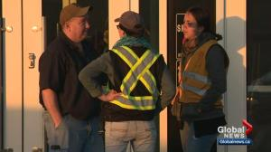 Wildfire evacuees from High Level begin arriving at Slave Lake reception centre