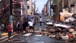 Puerto Rico sees flooded roads, uprooted trees in aftermath of Hurricane Maria