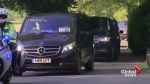 Royal Wedding: Prince Harry departs for Windsor Castle