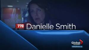 Danielle Smith joins the conversation on Calgary Global News Morning (02:47)