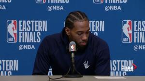 Kawhi says plays in 4th quarter lost Raptors the win in Game 1