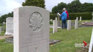 British couple looking to put names to unmarked graves of WWI soldiers