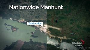 Focus shifts to York Landing, Man., as manhunt for B.C. suspects continues