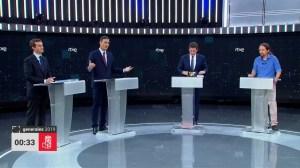 Spanish election candidates clash over Catalonia