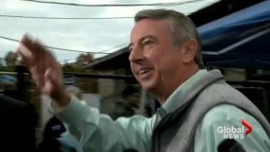 Republican Ed Gillespie votes in Virginia's gubernatorial race