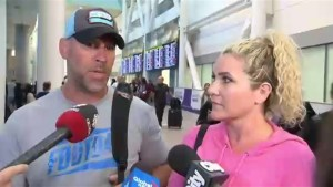 Canadians returning from Las Vegas describe the carnage