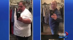 Man who lost 326 pounds says wildfire motivated him to lose weight