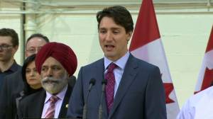 Justin Trudeau says western alienation 'very little' on his mind