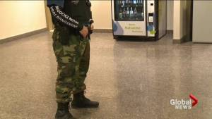 Montreal mayor outraged as police officers refuse to wear full uniforms