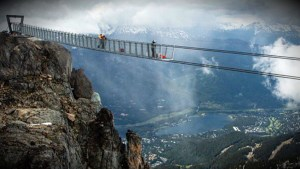 Whistler/Blackcomb suspension bridge: First look