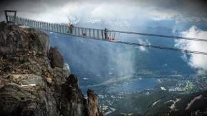 Whistler/Blackcomb suspension bridge: First look