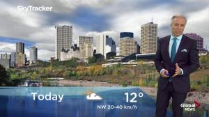 Edmonton early morning weather forecast: Monday, September 24, 2018