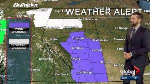 Edmonton Weather Forecast: Oct. 24