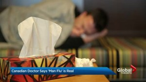 Have you heard of the 'man flu?'