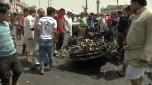 Death toll in for car bomb in Baghdad rises to 63