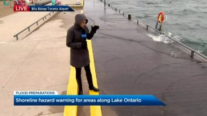 Residents along Lake Ontario's shorelines on high alert due to rising waters