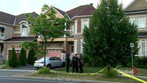 Man in custody after 4 bodies found in Markham home
