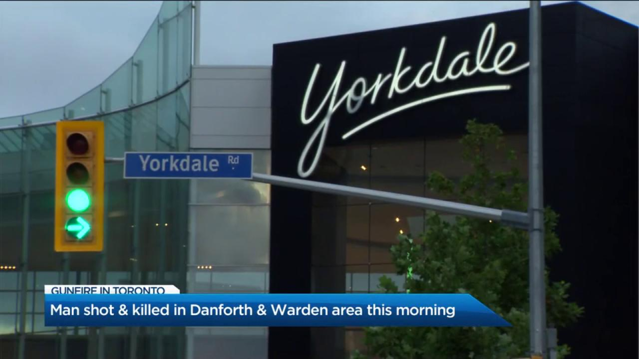 Police investigating shooting at Yorkdale Mall in North York
