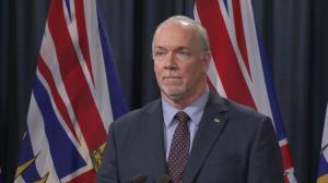 'We are trying to do everything we humanely can to protect the rights of British Columbians':  Horgan on Trans Mountain deal (01:25)