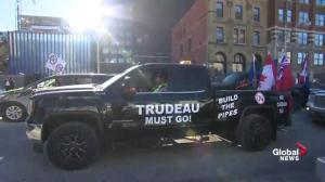 Convoy truck member says they want Trudeau to 'give Canada back to the people'
