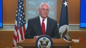 Rex Tillerson tells State Department employees that 'we all swore that same oath'