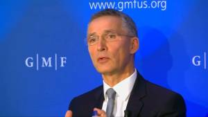 NATO 'absolutely confident' of Trump leadership in alliance