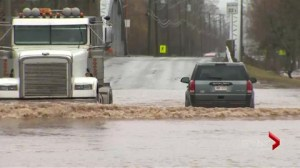 Officials say flooding almost certain this spring