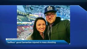 """Selfless and compassionate"" good Samaritan continues to recover in hospital after mass shooting in Toronto"