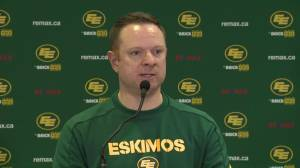 Edmonton Eskimos GM speaks about outgoing QB Mike Reilly