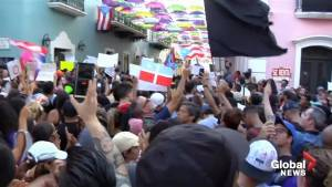 Protests continue against Puerto Rico governor