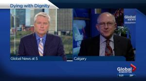 Dr. Jim Silvius discusses medically assisted dying in Alberta