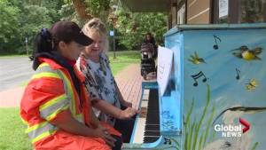 Free piano lessons in the park in DDO