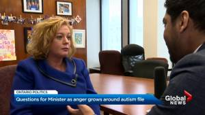 Lisa MacLeod responds to questions from parents of children with autism