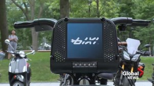 Electric Bixis hit Montreal streets