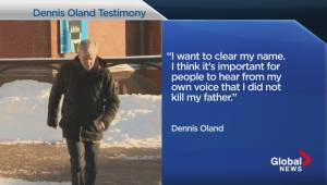 Oland testifies in his own defence on March 6