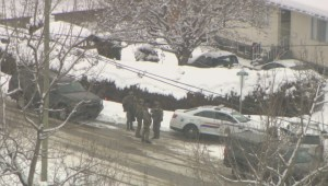 Coldstream standoff suspect enters guilty pleas