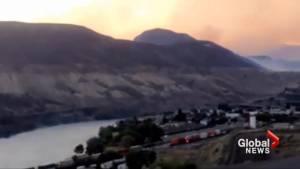 B.C. wildfires: Dense smoke choking Ashcroft