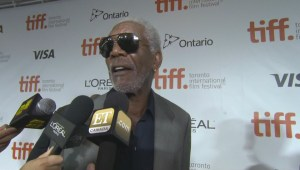 TIFF Red Carpet: Morgan Freeman and Diane Keaton from 'Ruth and Alex'