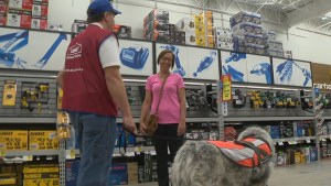 Lowe's Canada garnering attention after hiring man and his service dog
