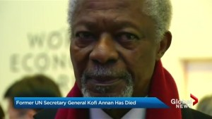 Former UN Secretary-General Kofi Annan dies at 80