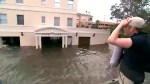 Reporter gives tour of areas flooded in Jacksonville, Florida after Hurricane Irma