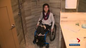 Home builder helps Sherwood Park girl adjust to life in wheelchair