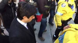 Ex-CBC radio host Jian Ghomeshi leaves court after first day of trial